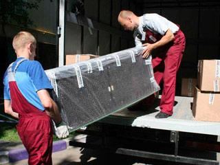 Погрузка деликатных грузов - мебели и техники